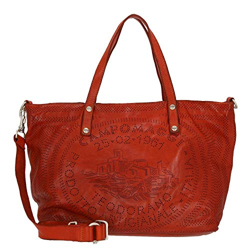 Campomaggi Shopping 36/45 cm Large, Baked (Rojo) - C000290ND-X1156-C5504