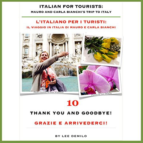 Italian for Tourists Tenth Lesson [L' Italiano per i Turisti Decima Lezione] audiobook cover art