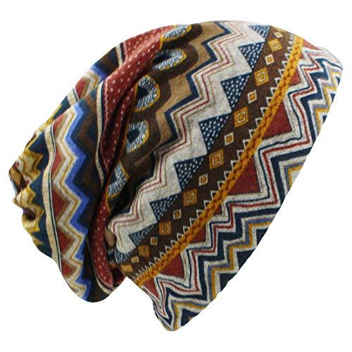 Mütze Beanie Hut Kappe Cap Herbst Winter Skullies Mützen Vintage Design Doppelnutzung Frauen Hüte Für Damen Dünne Mädchen Mode Feminino Schal Blau