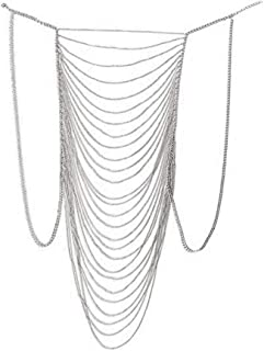 MineSign Body Chain Jewelry for Women Boho Bikini Chains Sexy Party Necklace