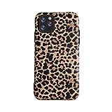 Leopard - Cover per iPhone 12 Pro Max Classic Luxury Fashion in gel flessibile, retro in gel morbido (iPhone 12 Pro Max, leopardo)