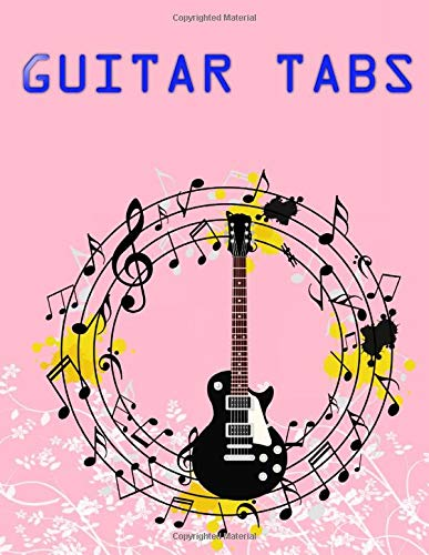 Beginners Guitar Tabs: Guitar Tabs Metallica Size 8.5 X 11 INCH ~ Notes - Music # Bass ~ Matte Cover Design Cream Paper Sheet 100 Page Good Print.