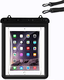 PawPawU Universal Waterproof Tablet Case, Underwater Tablet Pouch Dry Bag for Ipad Pro 11/10.5/9.7 IN, Ipad Air 10.5/9.7 I...