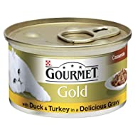 Gourmet Gold Chunks in Gravy with Turkey and Duck 12 x 85g