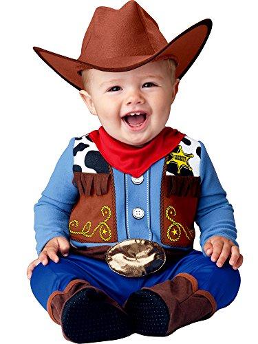 Disfraz de sheriff del lejano oeste para bebé - 18-24 meses