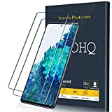 QHOHQ Schutzfolie für Samsung Galaxy S20 FE (4G mit 5G)/Galaxy A51 (4G mit 5G)/Galaxy M31S, [2 Stück] Panzerglas [9H Festigkeit] [HD Transparent] [Anti-Kratz] [Blasenfrei]