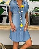 Immagine 2 minetom vestiti jeans donna estivi