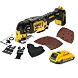 <span class='highlight'>Dewalt</span> DCS355N Multi-Tool 18V Cordless Brushless 29 Accessories 1x 2Ah Battery