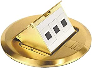 Southwire Tools & Equipment 3D-KIT Finish Floor Box Kit with Pop-Up Data Ports, FBCVBR-3D-KIT