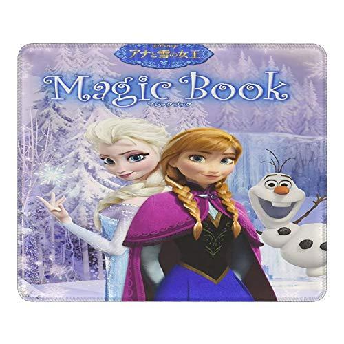 Alfombrilla de ratón de Frozen Elsa, personalizable, para regalo, base de goma antideslizante, para PC, portátil, ordenador, sala de juegos, oficina, trabajo