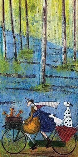 Sam Toft 'Spring' Kunstdruck Auf Leinwand, 30 X 60 Cm Mehrfarbig