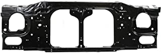 Radiator Support Assembly Compatible with 1998-2011 Ford Ranger Black Steel