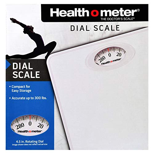 Health O Meter Dial Scale, White