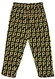 Zubaz MLB Mens Pittsburgh Pirates Big Logo Print Lounge Pants