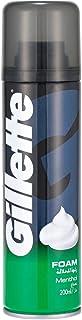 Gillette Foamy Menthol Shaving Foam, 200ml