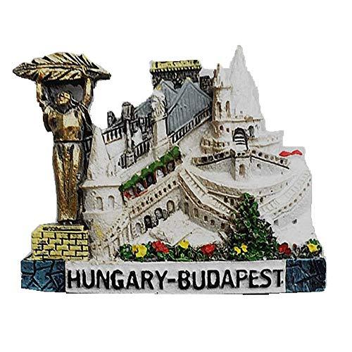 Calamita da frigorifero 3D Budapest Ungheria, decorazione per casa e cucina, adesivo magnetico Budapest Ungheria frigorifero magnete souvenir regalo
