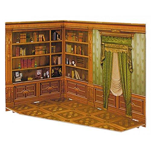 3d Puzzle. Maisons de poupées bibliothèque. Clever 142913. Rumboksy série