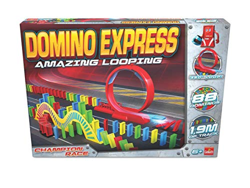 Dominó Express- Amazing Looping, Multicolor (Goliath 81007) , color/modelo surtido