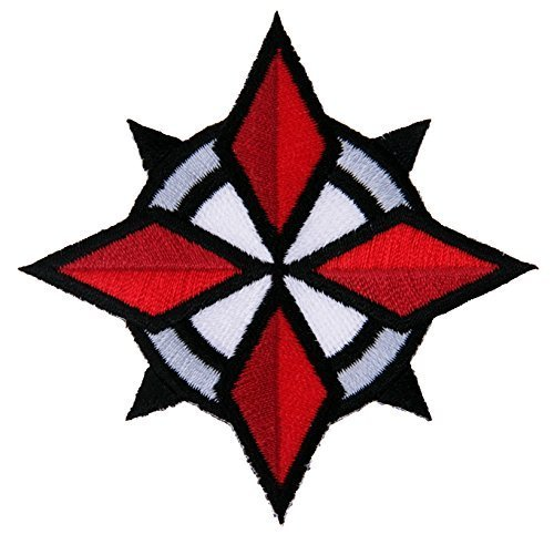 Titan One Europe Resident Evil Umbrella Corporation USS Security Special Forces Star Patch Aufnäher Aufbügler Patch