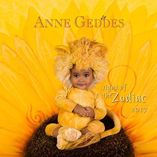 Anne Geddes Signs of the Zodiac 2017 Calendar (Square Wall)