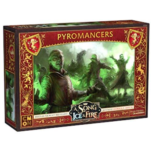 CMON A Song of Ice & Fire - Pyromancers, Erweiterung für 2 Spieler ab 14 Jahren
