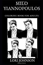 Milo Yiannopoulos Coloring Book for Adults