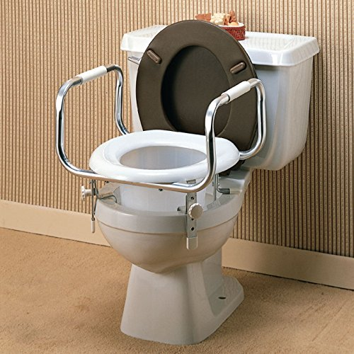 Where To Buy Raised Toilet Seat With Safety Hand Rails