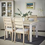 Chester Dove Grey Dining Table/Extending Table/Dining Room Painted Furniture