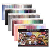 Sponsored Ad - 160 Colors Wood Colored Pencils Set Artist Painting Oil Based Pencil For School Drawing Sketching Art Suppl.