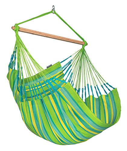 LA SIESTA Domingo Lime - Comfort hangstoel outdoor