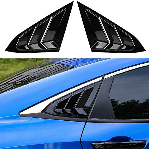 Thenice Civic Racing Style Rear Side Window Louvers
