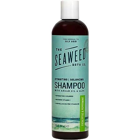 The Seaweed Bath Co. Balancing Eucalyptus and Peppermint Argan Shampoo, 12 oz