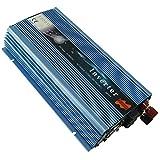 Wenhu 1000W sur la Grille Cravate onduleur Solaire, 20-50V DC pour AC 80-260V Onduleur à Onde sinusoïdale Pure pour 1000-1200W 24V, 30V, 36V PV ou énergie éolienne,22to50vdc,220to240V
