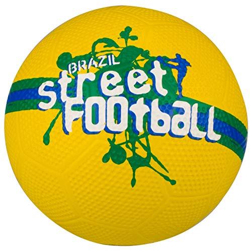 Avento calles fußballkerle, color  - gelb grün weiß blau, tamaño 5