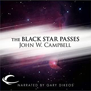 The Black Star Passes audiobook cover art