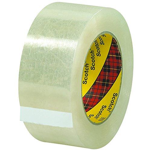 "3M 313 Carton Sealing Tape, 2.5 Mil, 2"" x 110 yds, Clear, 36/Case, 3M Stock# 7100177423"