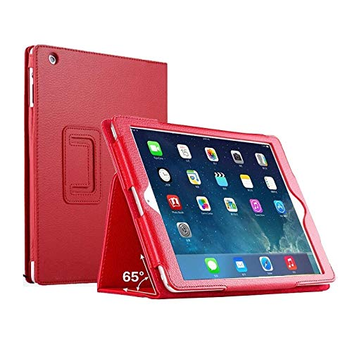 GHC PAD Cases & Covers For iPad MI-NI 5 2019 7.9'', Armor Shockproof Stand Cover Silicon High Duty Shockproof Cover for iPad MI-NI 5 (Color : Red Kickstand)