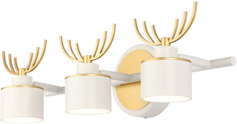 WWLONG LED Spiegel Scheinwerfer Bad Badewanne IP44 Spiegel Licht Spiegel Beleuchtung Wand Bad Wei Spiegel Licht Schminktisch Spiegel Scheinwerfer