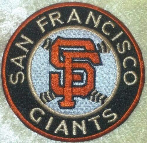 Sheff SF Giants Baseball 3.5'Ê Iron On Embroidered Patch