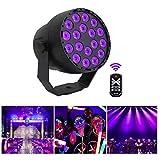 JKYQ Disco-Lichter 18 LED-Partei Lampe Ball drahtloser Fern DJ Bühne Beleuchtung dauerhaft Auto Atmosphäre Licht KTV neun Farb Blitz