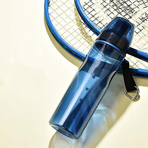 WANGDANA Wasserbecher 550/700 ml Sport-Direktwasserflasche Kunststoff Erwachsene im Freien Mineralwasser Student Cup