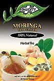 DALGETY Moringa mit Ingwer-Kräutertee Gesund und köstlicher Kräuteraufguss 20 Teebeutel pro...