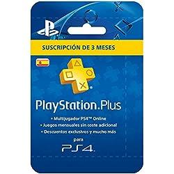 PlayStation 4 Slim (PS4) - Consola de 500 GB + PSN Plus Tarjeta 90 Días: Amazon.es: Videojuegos