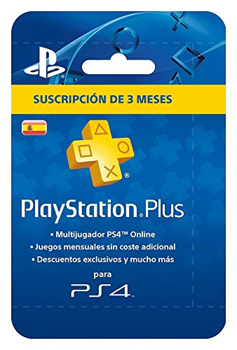 Sony – Carte Psn plus 90 jours – reedición (Playstation 4)