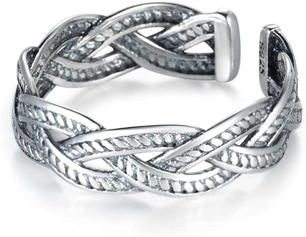Beautysoul Colorado Springs Mall 925 Sterling Silver 2021 spring and summer new Ring Women Adjustable for Solid