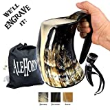 AleHorn 600ml (20 oz) handcrafted Extra Large Coupe Viking Corne à Boire Tankard