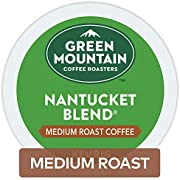 Green Mountain Coffee Nantucket Blend Keurig Single-Serve Medium Roast Coffee K-Cup Pods, 32 Count