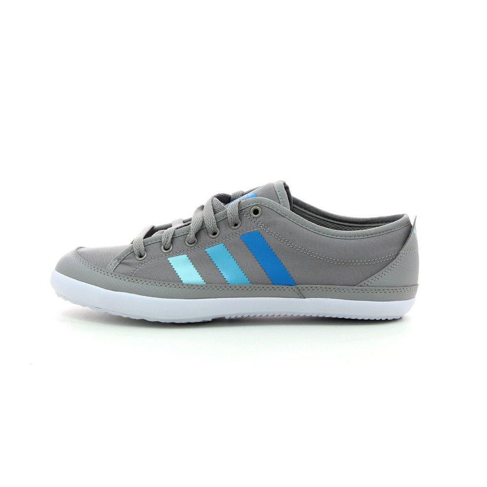 Buy adidas Originals Men's Nizza Remodel Grey Sneakers - 9 UK at ...