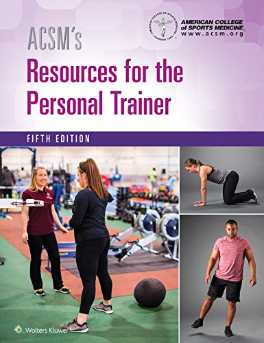 ACSM's Resources for the Personal Trainer