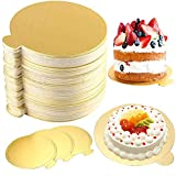 Bandejas Carton para Tartas Redondas, 100PCS Tableros para Tartas Redondas,...